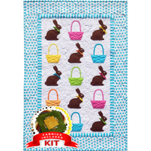 Chocolate Bunnies Quilt Kit