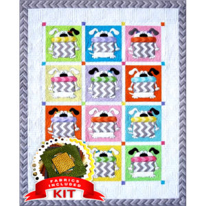 Dogs Quilt Kit