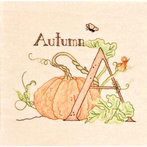 A Gardener's Alphabet Pattern