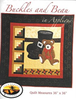 Buckles and Beau (Applique) Pattern
