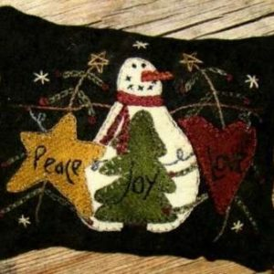 Peace…Love…Joy… Pincushion Pattern