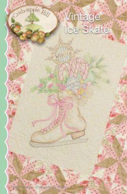 Vintage Ice Skate Pattern