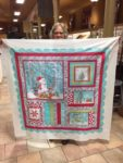 Sue finished this beautiful winter panel!