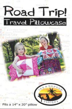 Road Trip Travel Pillowcase Pattern