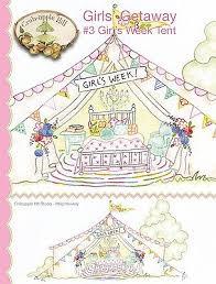 Girls' Getaway #3 Girl's Week Tent
